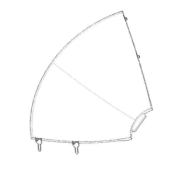 4x Generic EXPLORER 3075 Reflector Panels